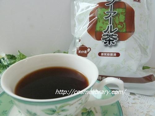 ティーライフのプーアル茶